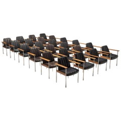 Large Set of 24 Chairs in Rosewood by Sven Ivar Dysthe