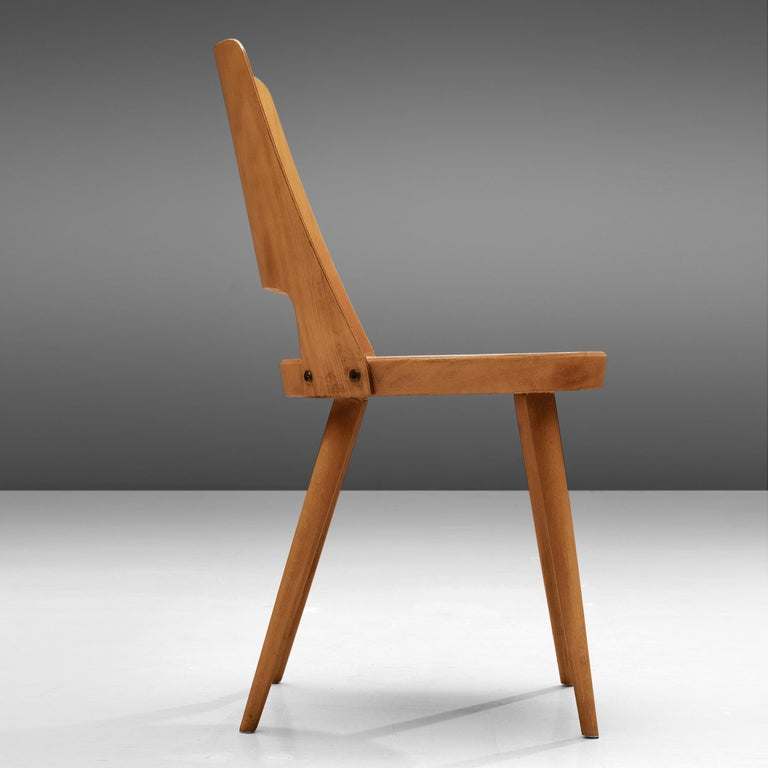 20th Century Large Set of Baumann 'Mondor' Chairs  For Sale