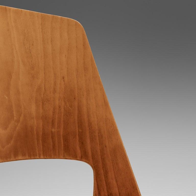 Large Set of Baumann 'Mondor' Chairs  For Sale 1