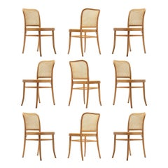 Large Set of Iconic Ton Dining Chairs