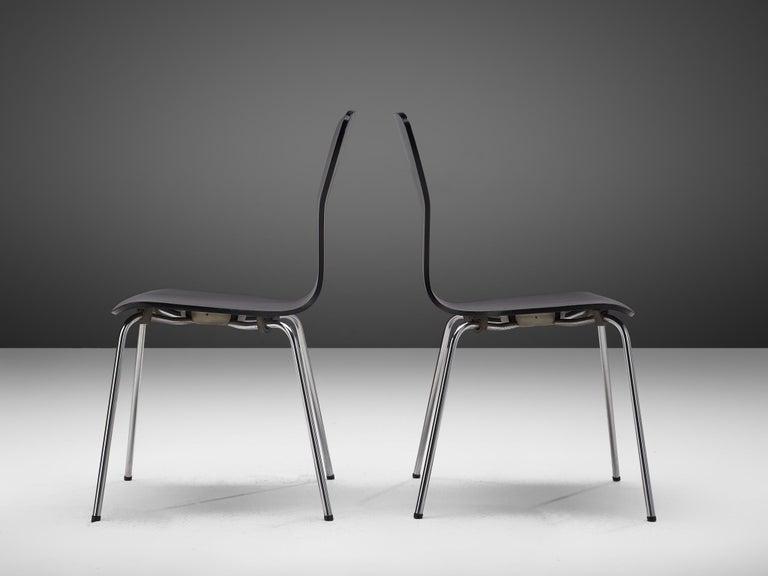 Large set of 'Nikke' Dining Chairs by Tapio Wirkkala 3