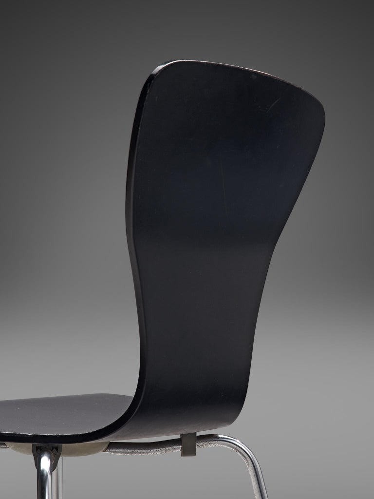 Large set of 'Nikke' Dining Chairs by Tapio Wirkkala 4