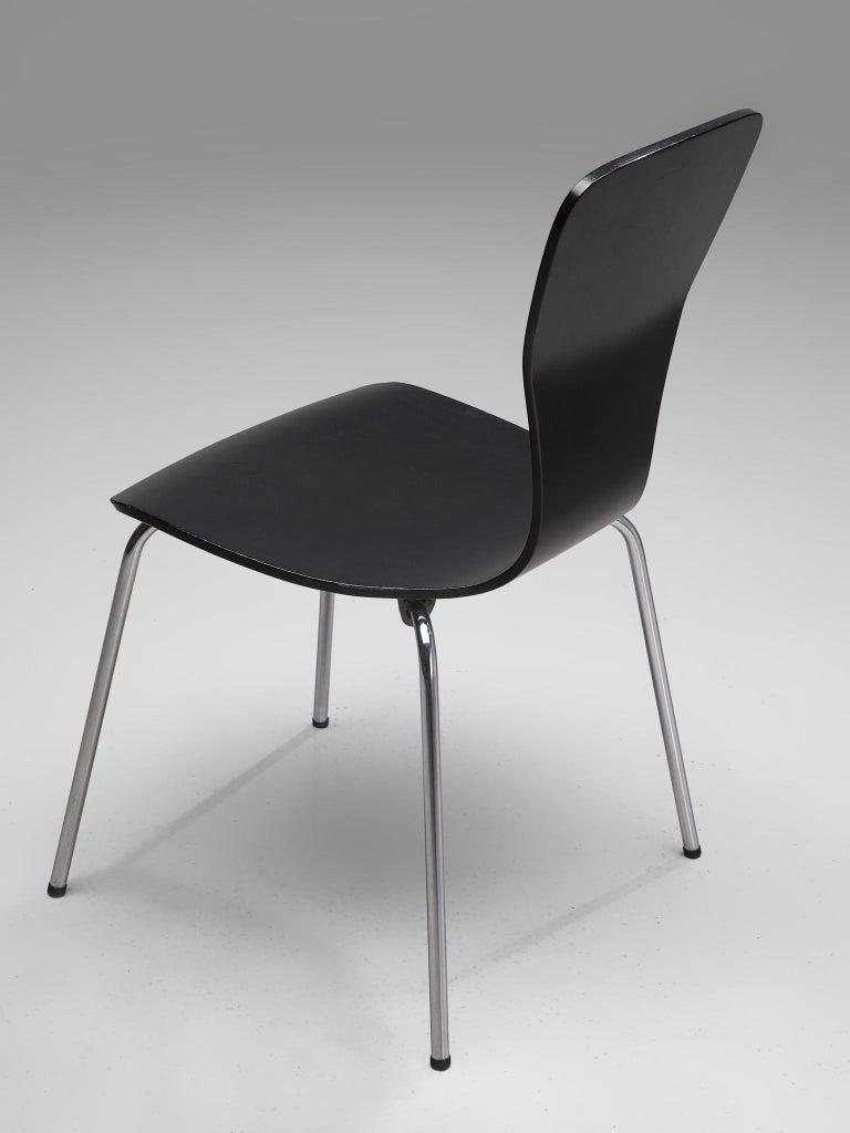 Large set of 'Nikke' Dining Chairs by Tapio Wirkkala 5