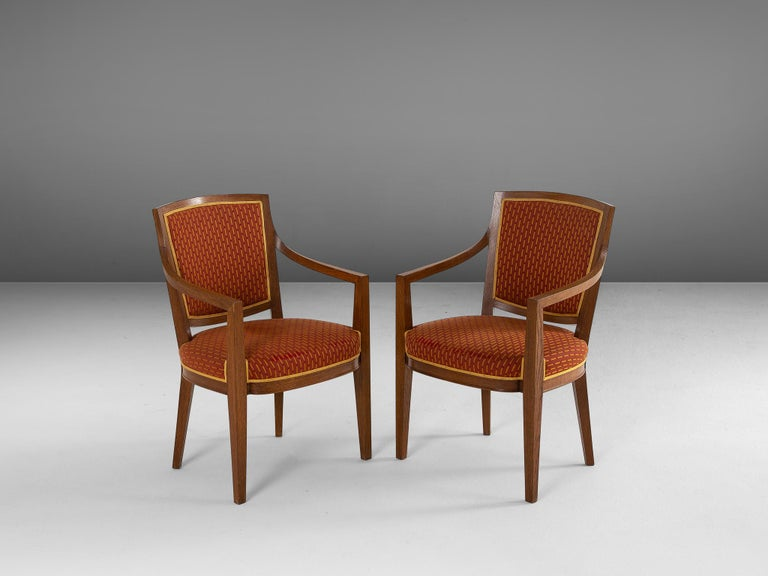 1940s Large Set of Twelve Danish Armchairs For Sale