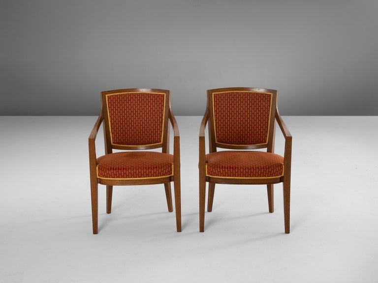 Large Set of Twelve Danish Armchairs For Sale 1