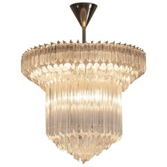 Large Set of Venini Chandeliers