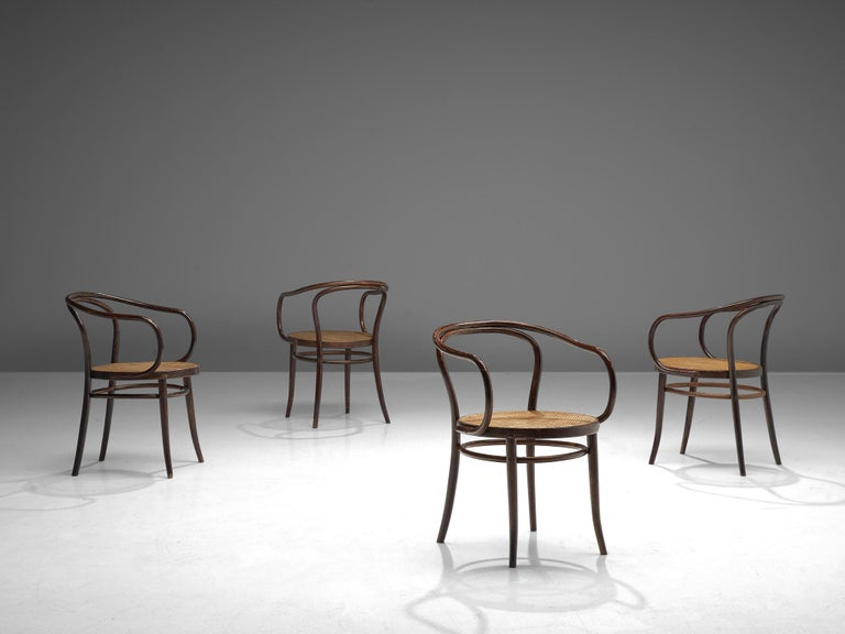 Large Set of Twenty Bentwood Armchairs by Ton, 1960s For Sale 2