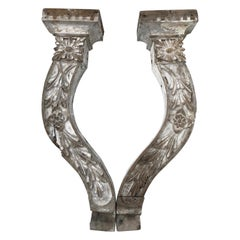 Large Shabby Chic Farm-House Corbels or Wall Sconces
