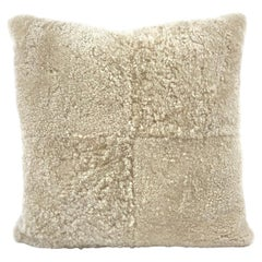 "Large Shearling Pillow - Euro 24x24"" | 60x60cm"