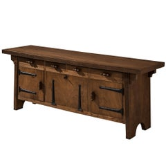 Large Sideboard by Ernesto Valabrega in Oak