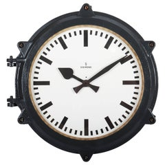Large Siemens Outdoor Industrial, Factory, Ship Wall Clock