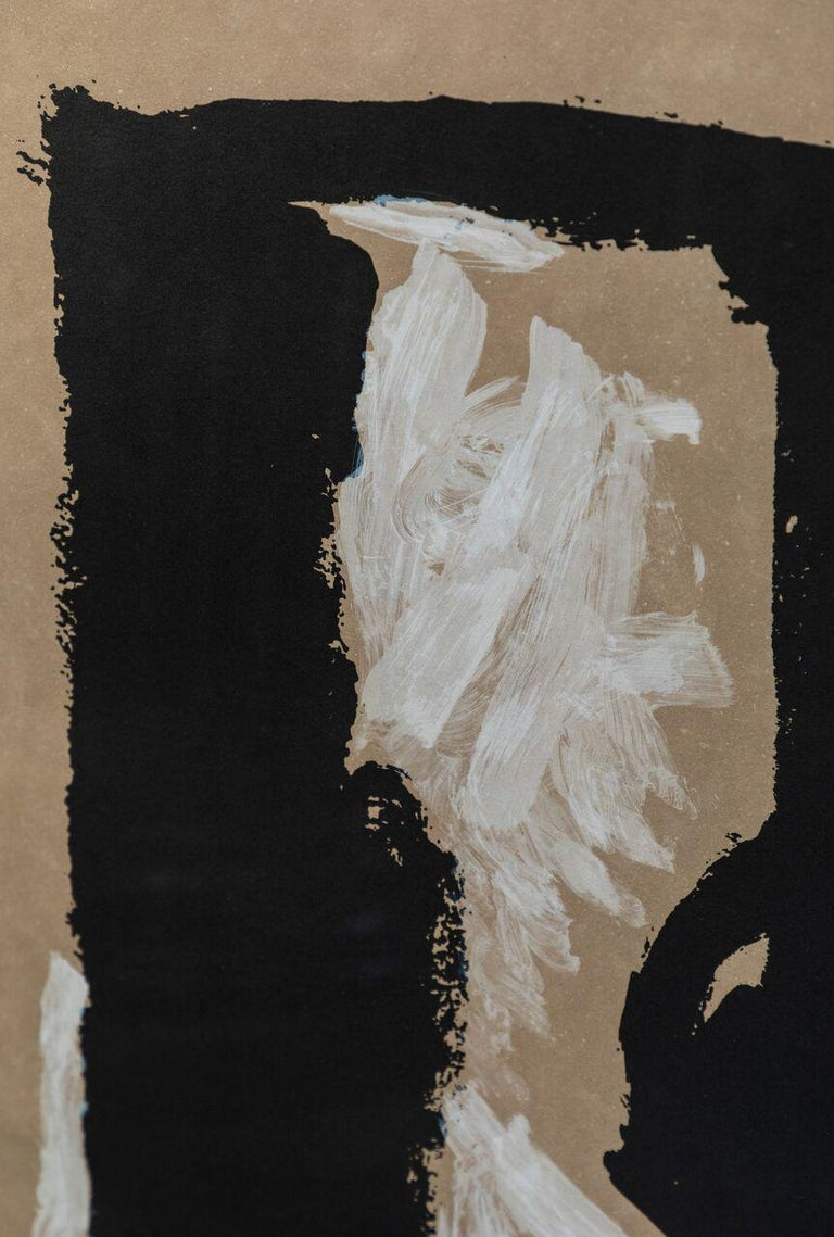 American Large, Signed and Numbered, Robert Motherwell Lithograph For Sale