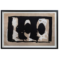 Large, Signed and Numbered, Robert Motherwell Lithograph