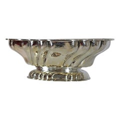 Large Silver Bowl, Germany, 800/- Silver, Handcrafted