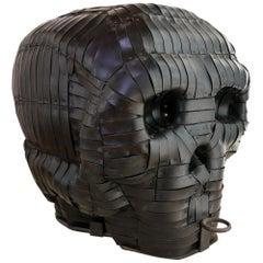 Large Skull Sculpture by the Spanish Artist Gabriel, circa 1990