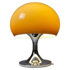 Large Space Age Mushroom Table Lamp in Style of Harvey Guzzini