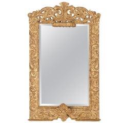 Large Spanish Baroque Style Mirror