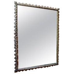 Large Spanish Giltwood Mirror