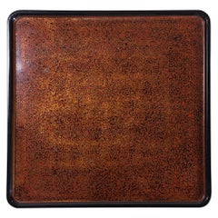 Large Square Wakasa Lacquer Tray