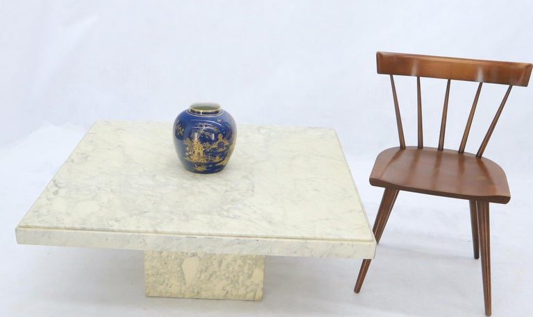 Mid-Century Modern square coffee table. Measures: 40 x 40 large.