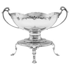 Large Sterling Silver Centrepiece Bowl Hallmarked in 1927