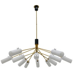 Large Stilnovo Chandelier