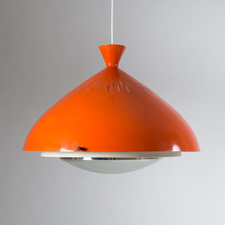 Large Stilnovo Pendant, 1950s For Sale 4