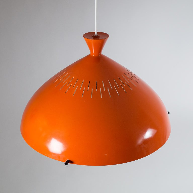 Large Stilnovo Pendant, 1950s For Sale 6