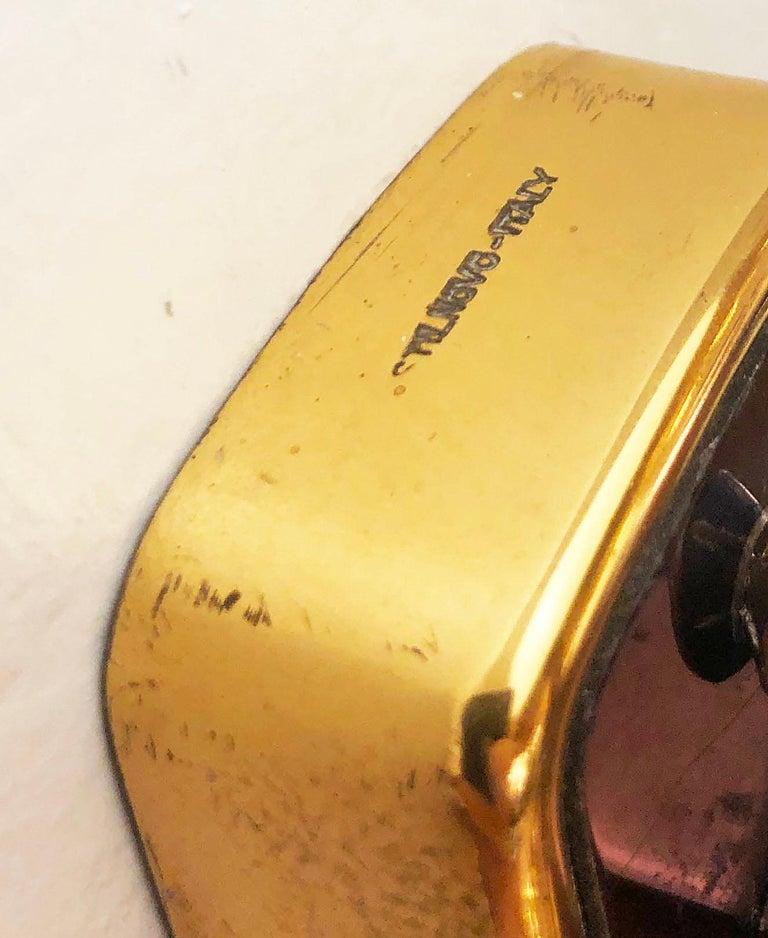 Brass Large Stilnovo Wall Lights Model 2128 For Sale