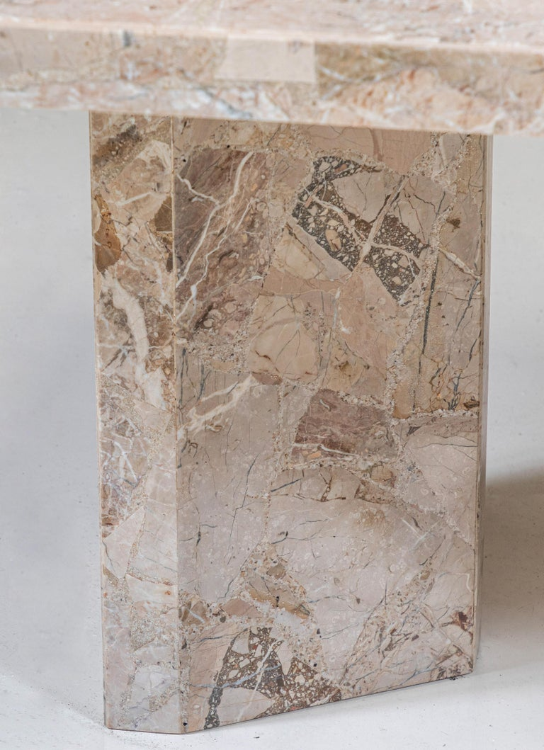 Large Stone Rectangular Dining Table For Sale 1
