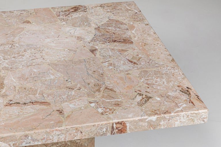Large Stone Rectangular Dining Table For Sale 2