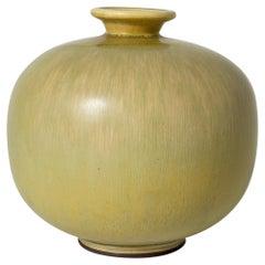 Large Stoneware Vase by Berndt Friberg