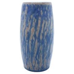 Large Stoneware Vase, Gunnar Nylund, Rörstrand, Blue Rubus