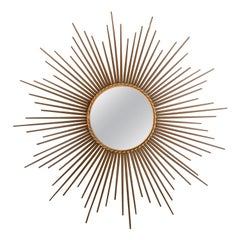 Large Sunburst Mirror by Chaty Valluris