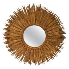 Large Sunburst Mirror