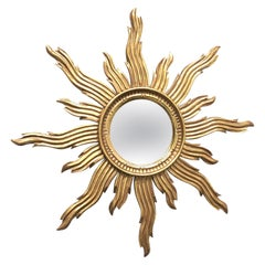 Hollywood Regency Sunburst Mirrors