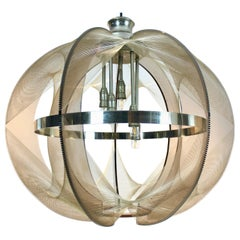 Large 'Swag' Pendant by Paul Secon for Sompex