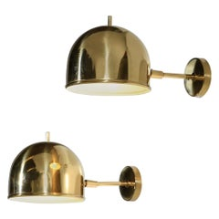 Large Swedish Wall Lights by Bergboms, 1960s Style Hans Age Jakobsson