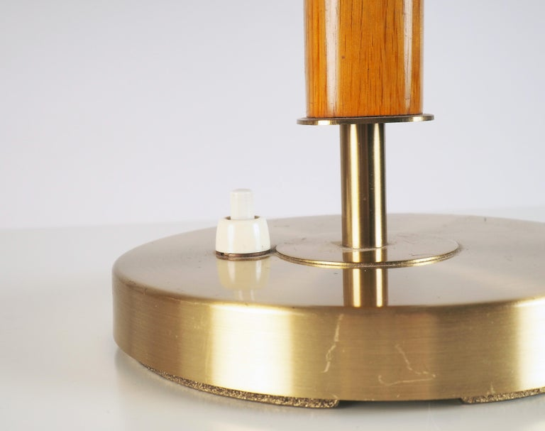 Scandinavian Modern Large Table Lamp by Boréns, Sweden For Sale