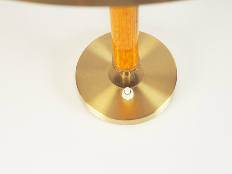 Mid-20th Century Large Table Lamp by Boréns, Sweden For Sale