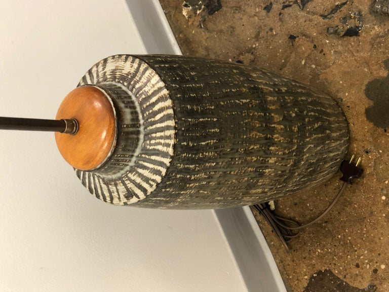 Mid-20th Century Large Table Lamp by Gunnar Nylund For Sale