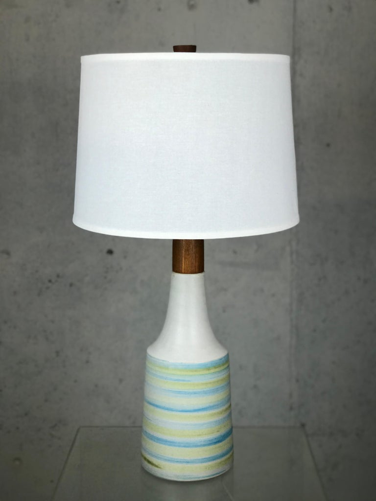 Large Martz Mid Century Table Lamp by Jane and Gordon Martz for Marshall Studios For Sale 3
