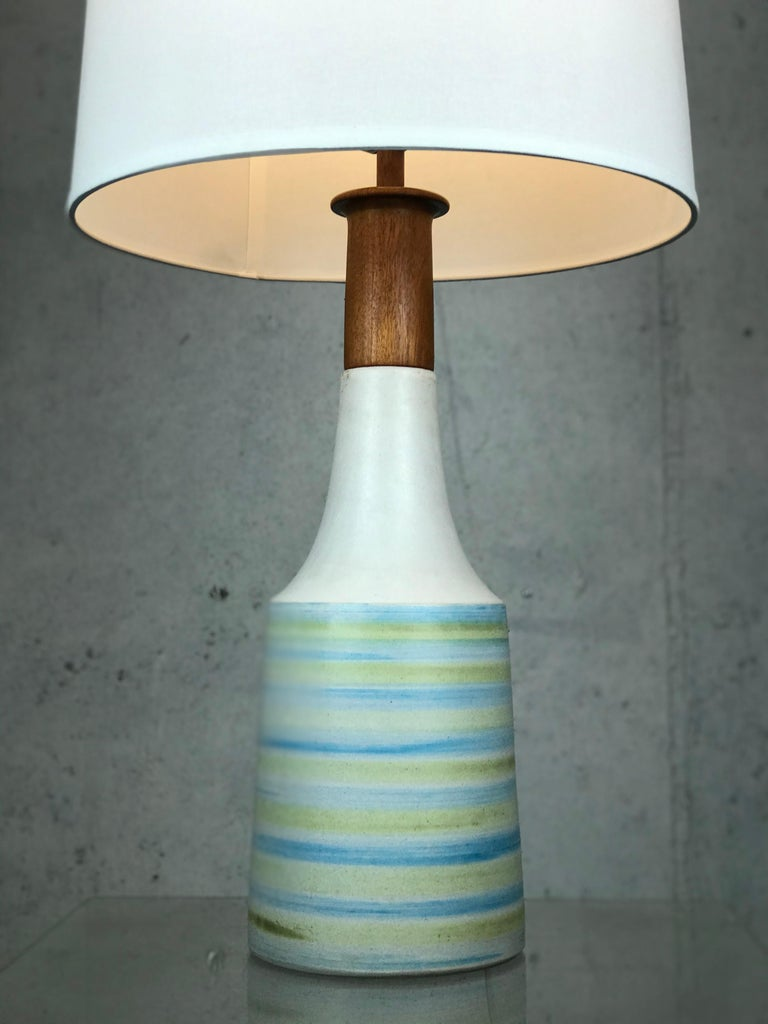 Large Martz Mid Century Table Lamp by Jane and Gordon Martz for Marshall Studios For Sale 4