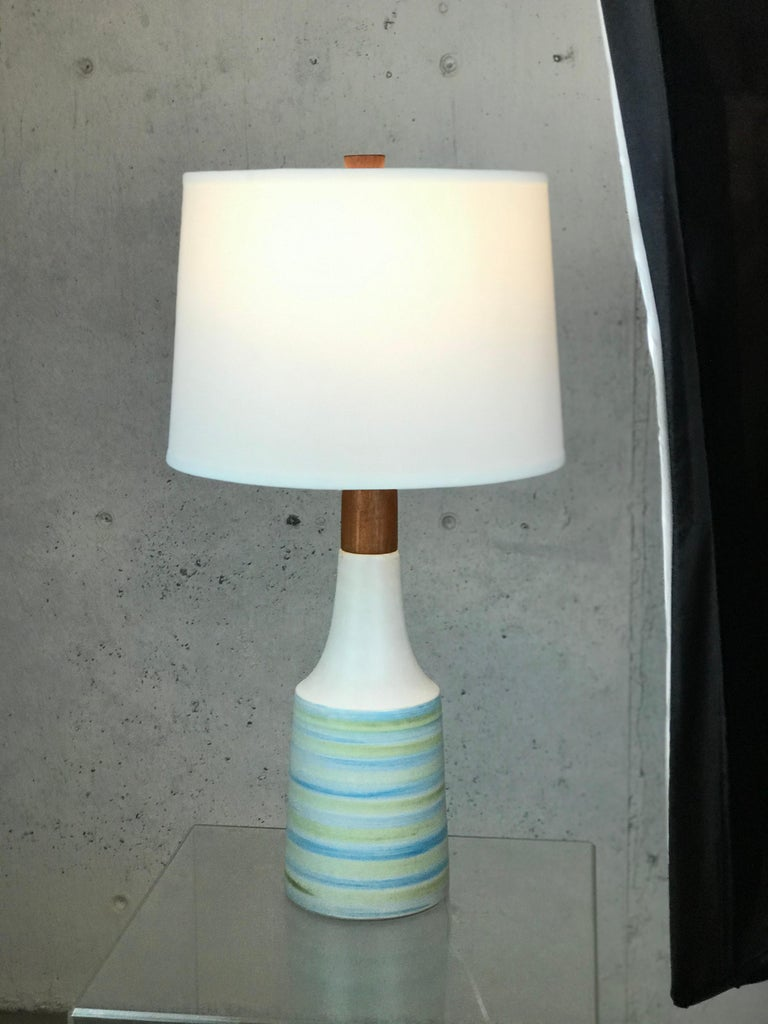 Large Martz Mid Century Table Lamp by Jane and Gordon Martz for Marshall Studios For Sale 9