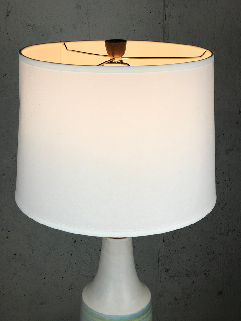 American Large Martz Mid Century Table Lamp by Jane and Gordon Martz for Marshall Studios For Sale