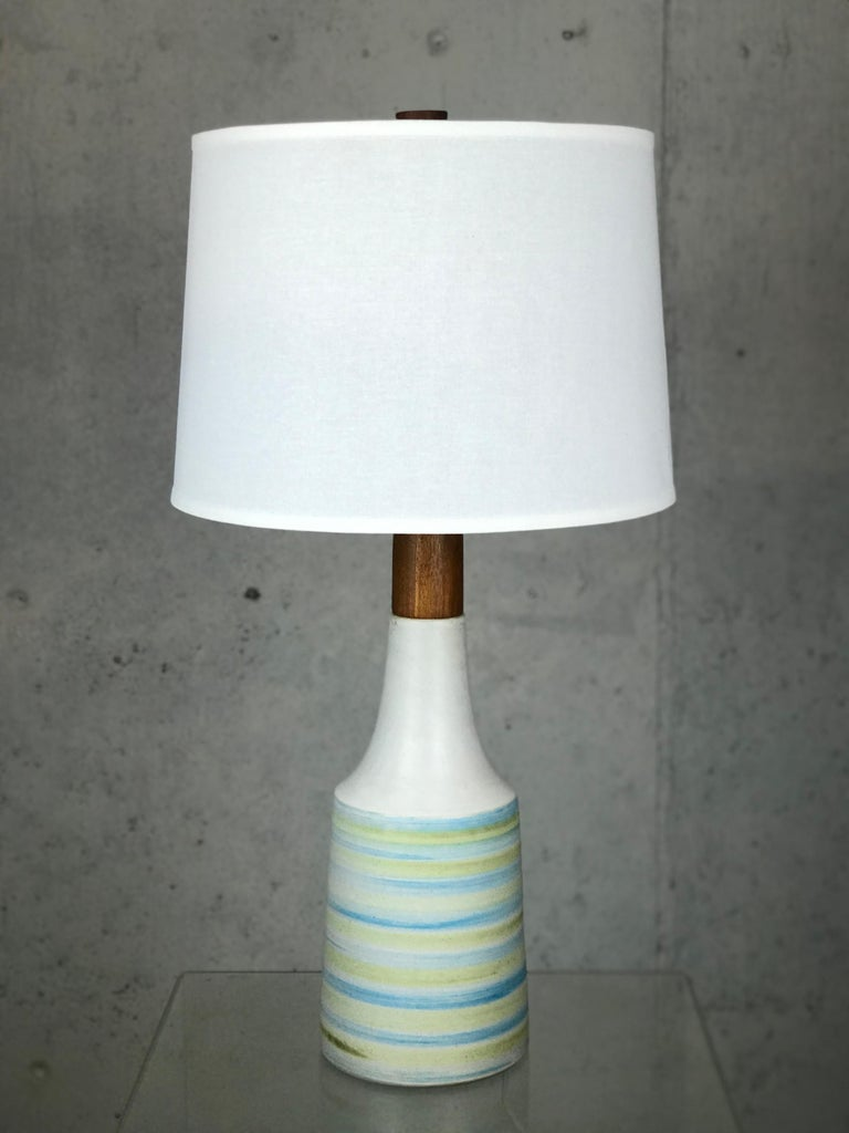 Ceramic Large Martz Mid Century Table Lamp by Jane and Gordon Martz for Marshall Studios For Sale