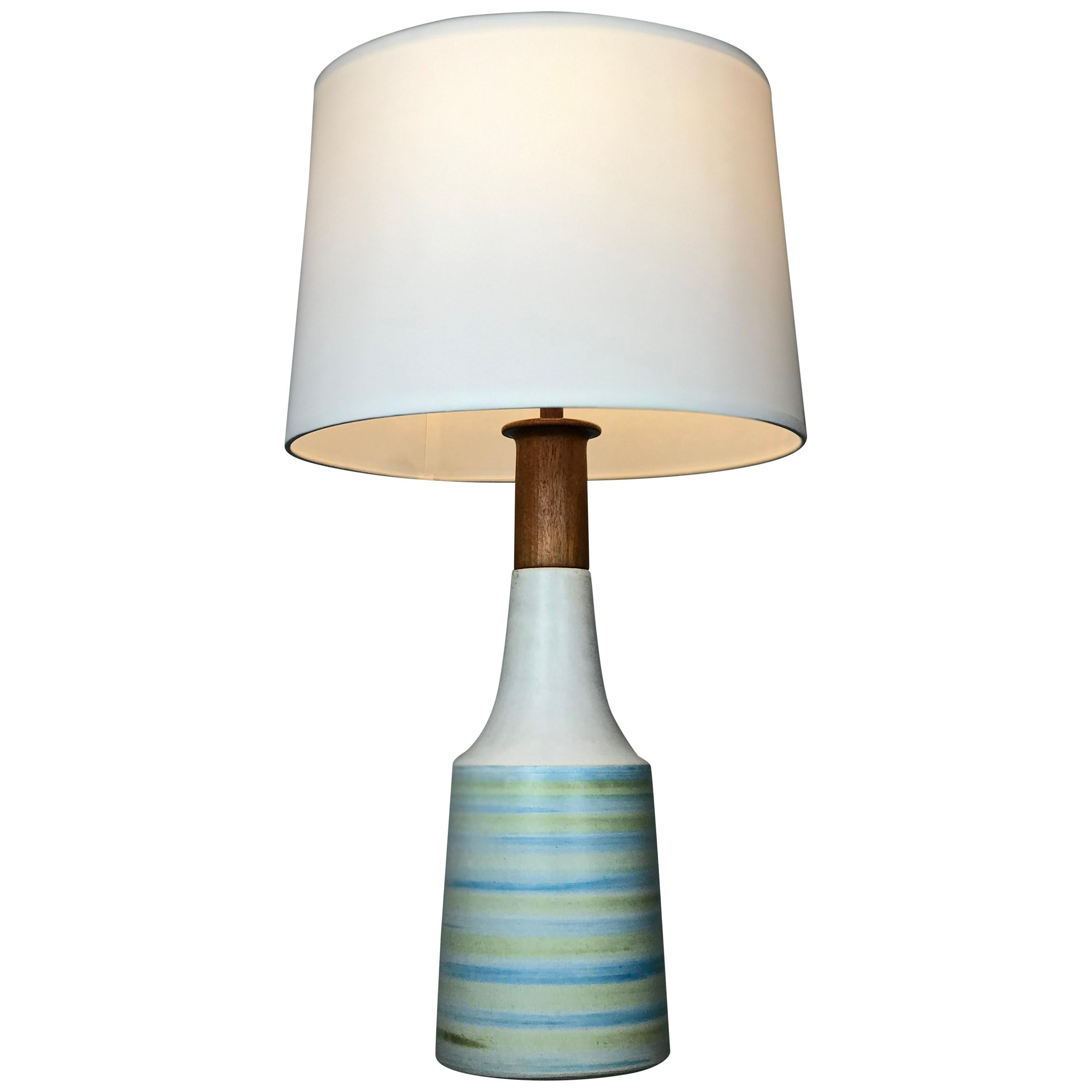 Large Martz Mid Century Table Lamp by Jane and Gordon Martz for Marshall Studios