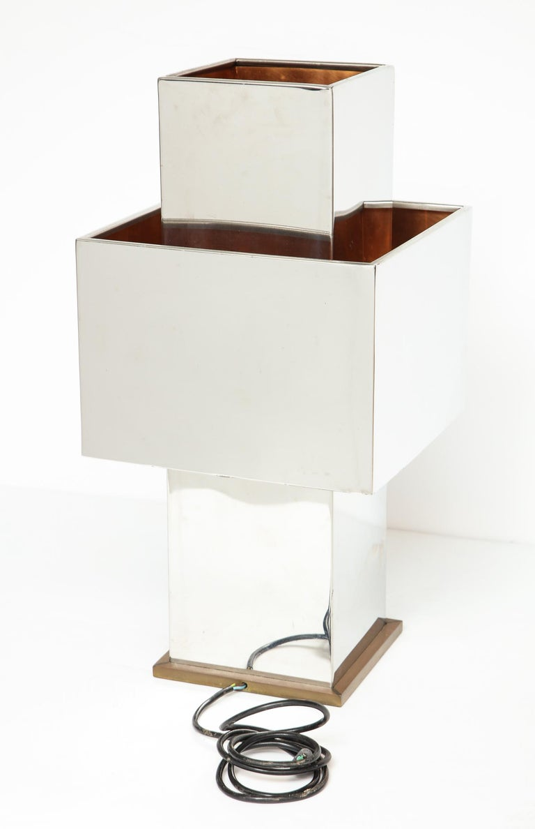 Large Table Lamp by Willy Rizzo For Sale 6
