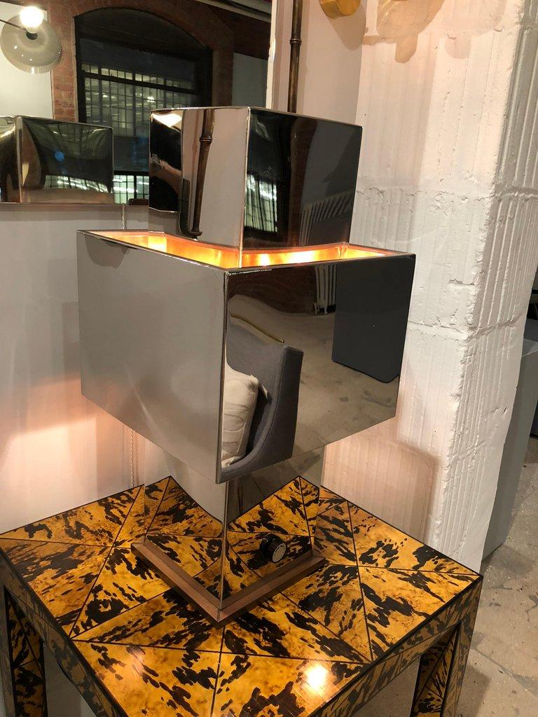 Large Table Lamp by Willy Rizzo For Sale 9