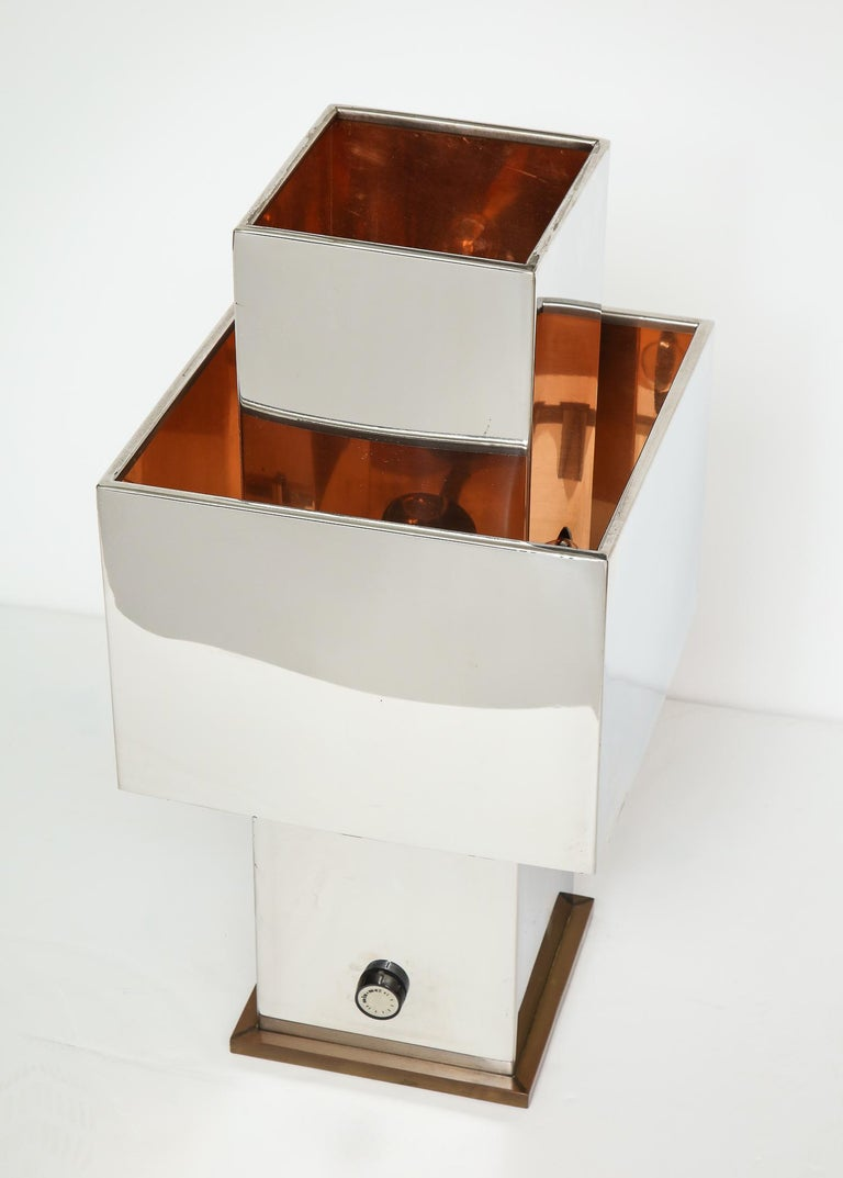 Large Table Lamp by Willy Rizzo For Sale 1